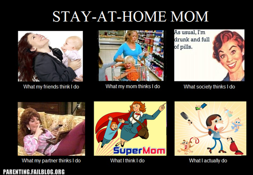 Stay At Home Mom: My Thoughts